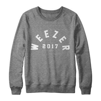 Weezer Collegiate Crewneck Sweatshirt
