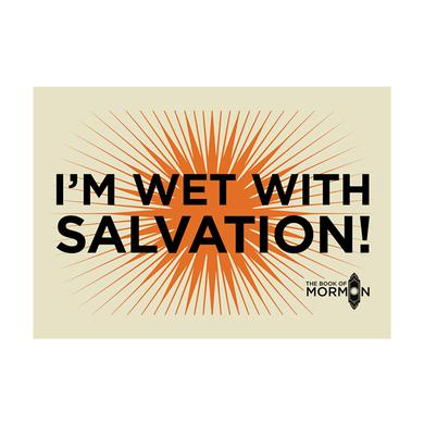 Book Of Mormon Salvation Tea Towel
