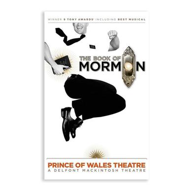 Book Of Mormon London Poster