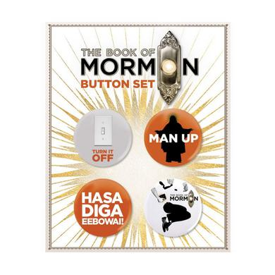 Book Of Mormon Button Card Set