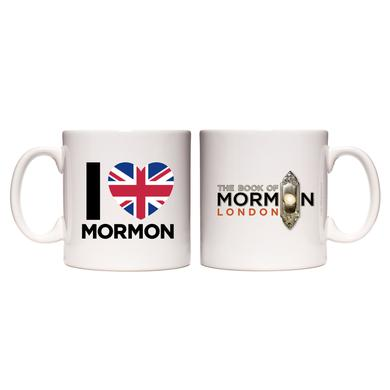 Book Of Mormon I Heart Mormon Mug