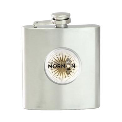 Book Of Mormon Logo Flask