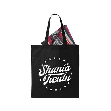 Shania Twain Star Logo Tote and Blanket