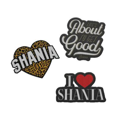 Shania Twain Patch Set