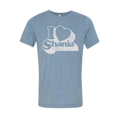 Shania Twain I Heart Shania Throwback Tee