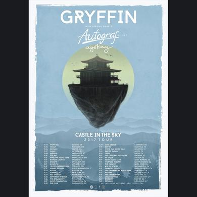 GRYFFIN Castle In The Sky Tour Poster