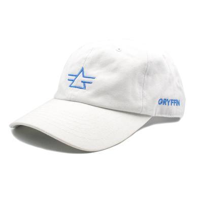 Gryffin Logo Hat / White