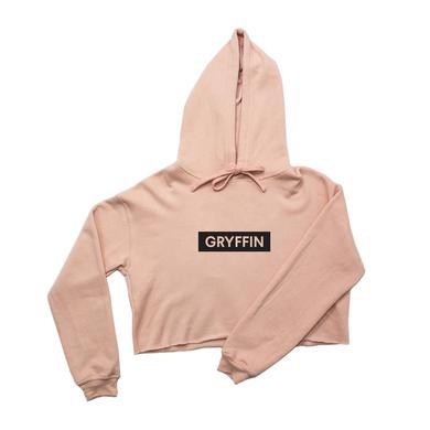 Gryffin Crop Hoodie / Pink