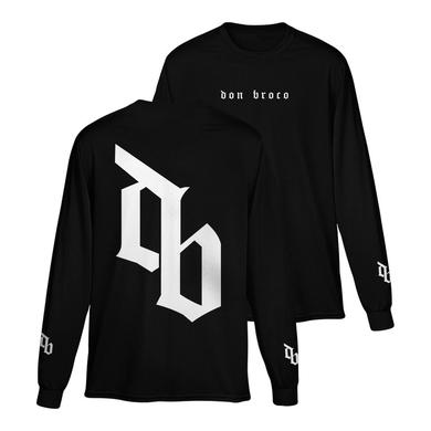 DON BROCO DB Long Sleeve T-Shirt (Black)