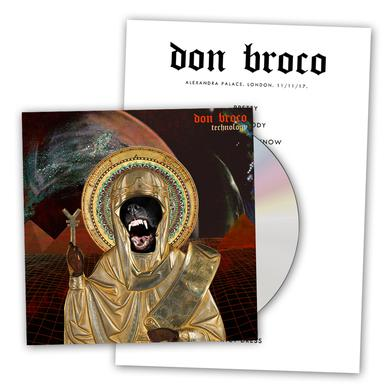 DON BROCO Technology Deluxe CD Album (Signed) Deluxe CD