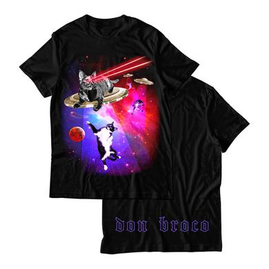 DON BROCO Cats In Space T-Shirt