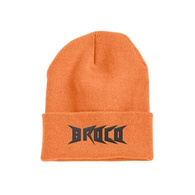 DON BROCO Stay Ignorant Beanie (Orange)