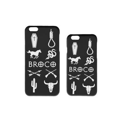 DON BROCO Black Cowboy Cult iPhone Case