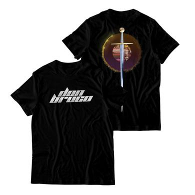 DON BROCO Black Sword T-Shirt