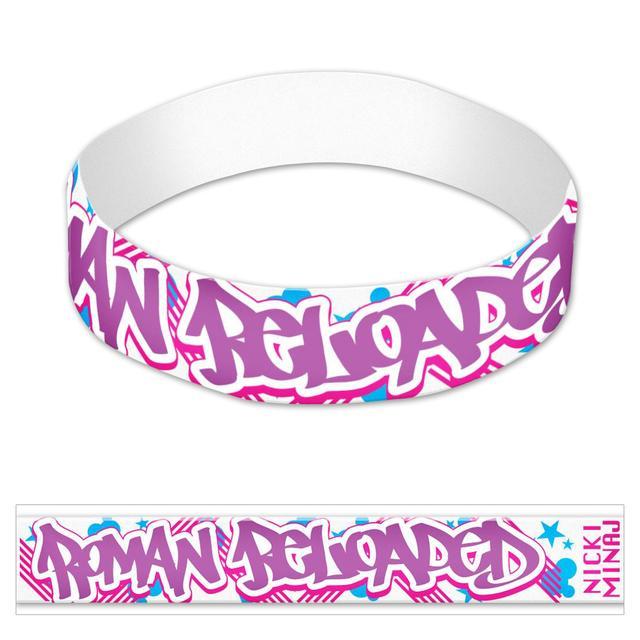 Nicki Minaj Roman Retro Rubber Bracelet