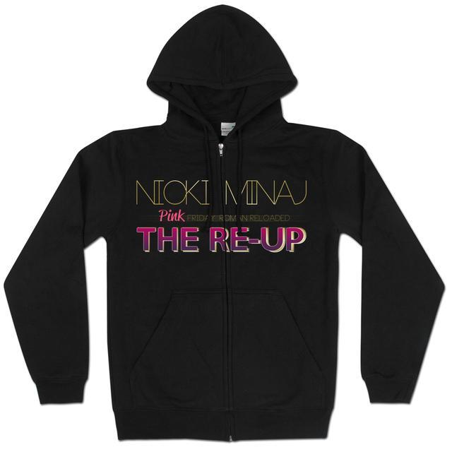 Nicki Minaj The Re-Up Logo Hoodie