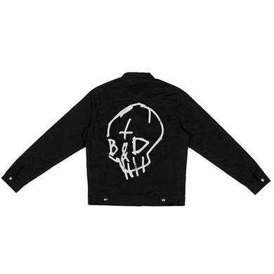 G-Eazy TB&D SKULL DENIM JACKET