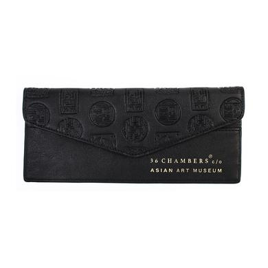 Wu-Tang Clan Black Wu Seal Envelope Wallet