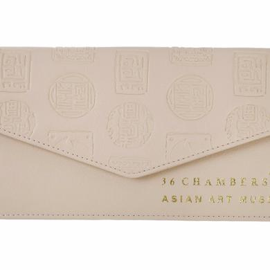Wu-Tang Clan Cream Wu Seal Envelope Wallet