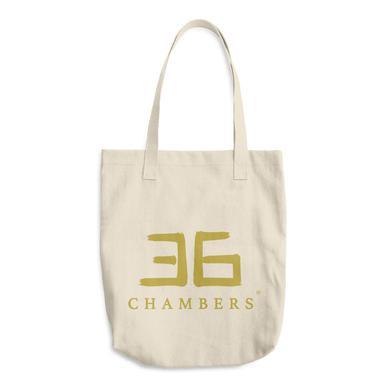 Wu-Tang Clan 36 Chambers Gold Logo Tote