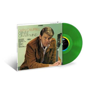 Glen Campbell Gentle On My Mind (Limited Edition Clear Green LP) (Vinyl)