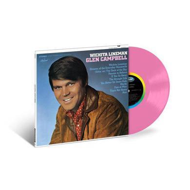 Glen Campbell Wichita Lineman (Limited Edition Pink LP) (Vinyl)