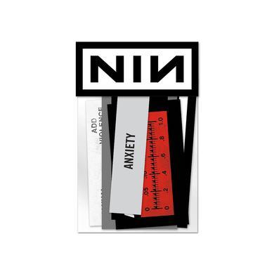 Nine Inch Nails ADD VIOLENCE STICKER PACK