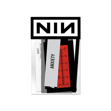 Nine Inch Nails ADD VIOLENCE STICKER PACK
