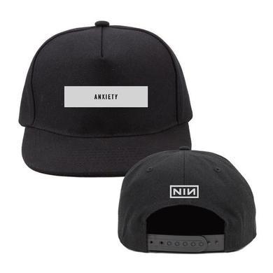 Nine Inch Nails ANXIETY BLACK BASEBALL HAT