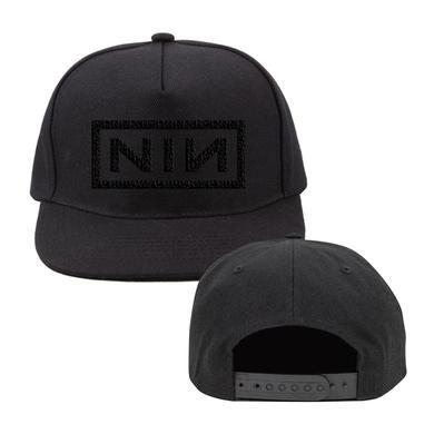 Nine Inch Nails NIN LOGO BLACK BASEBALL HAT