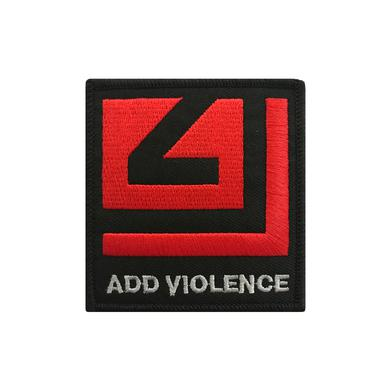 Nine Inch Nails ADD VIOLENCE RED LOGO PATCH