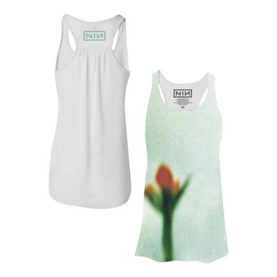 Nine Inch Nails FRAGILE FLOWER WOMEN'S RACERBACK TANK