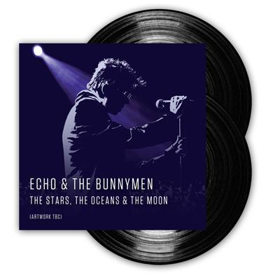 Echo & the Bunnymen The Stars, The Oceans & The Moon Double Heavyweight Vinyl (Signed) Double Heavyweight LP