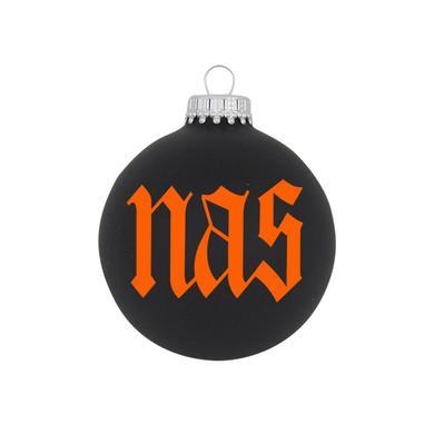 """Nas 3 1/4"""" Glass Ornament"""