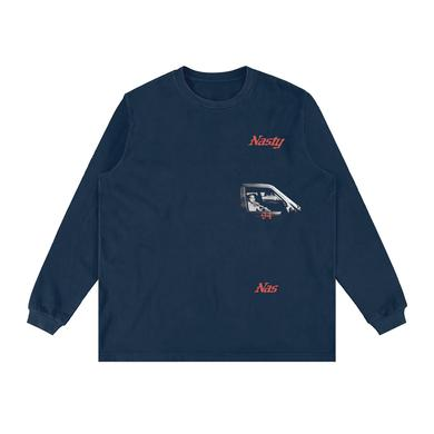 Nasty Nas Car Longsleeve T-Shirt