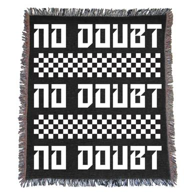 """No Doubt Checkered Blanket 50"""" x 60"""""""