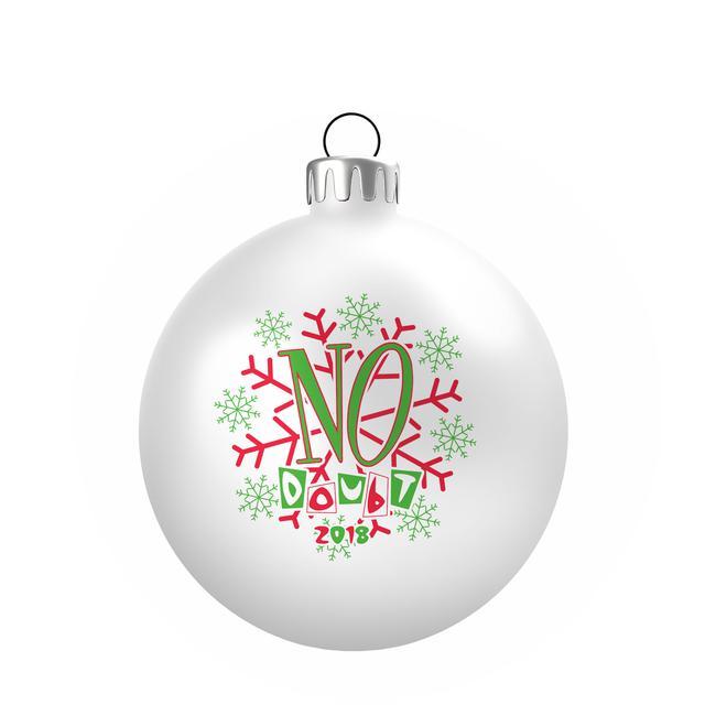 No Doubt 2018 Ornament