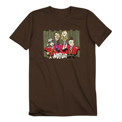 No Doubt Lounge Brown T-Shirt