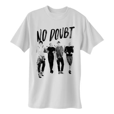 No Doubt Rooftop ND White T-Shirt
