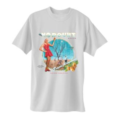 No Doubt Distressed Tragic Kingdom White T-Shirt