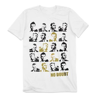 No Doubt Tiles Men's White T-Shirt
