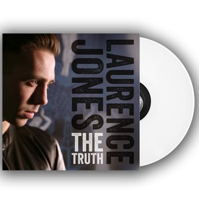 Laurence Jones The Truth Signed Limited Deluxe Edition White Vinyl 12 Inch