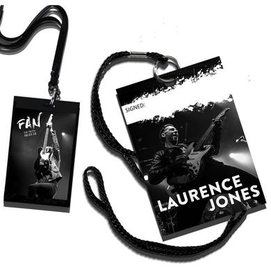Laurence Jones Signed Ltd Edition Truth Tour Laminate with lanyard