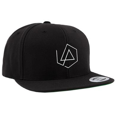 Linkin Park LP Hex Logo Black Snapback Hat