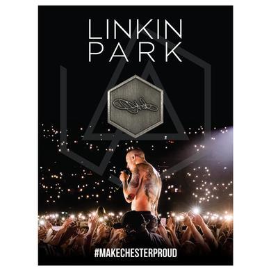 Linkin Park Chester Signature Pin
