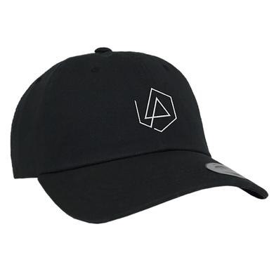 Linkin Park LP Hex Logo Dad Hat - Black