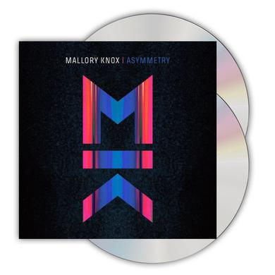 Mallory Knox Asymmetry Deluxe CD Album CD/DVD