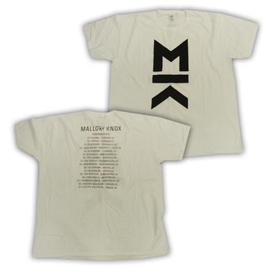 Mallory Knox White MK Tour T-Shirt