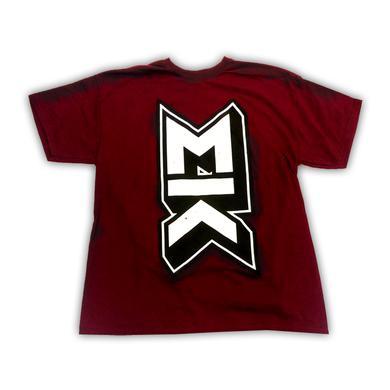 Mallory Knox MK Burgundy T-Shirt