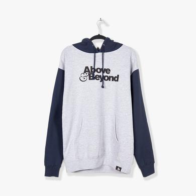 Above & Beyond Hoodie / Blue + Grey Cut